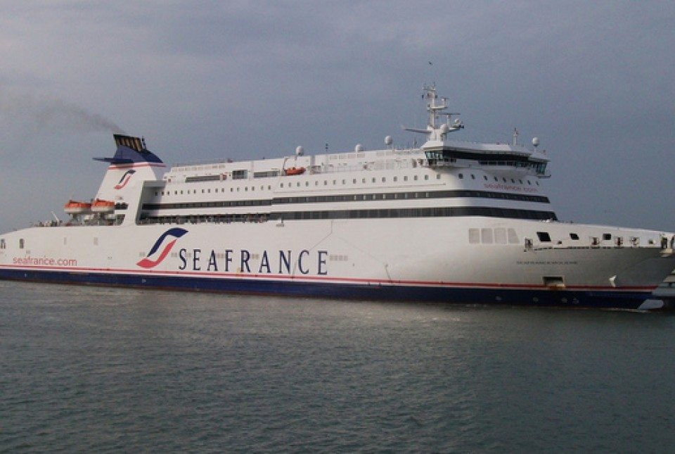 Photograph of SeaFrance ferry