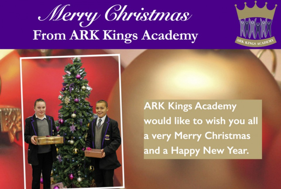 ARK Kings Academy Christmas greeting message