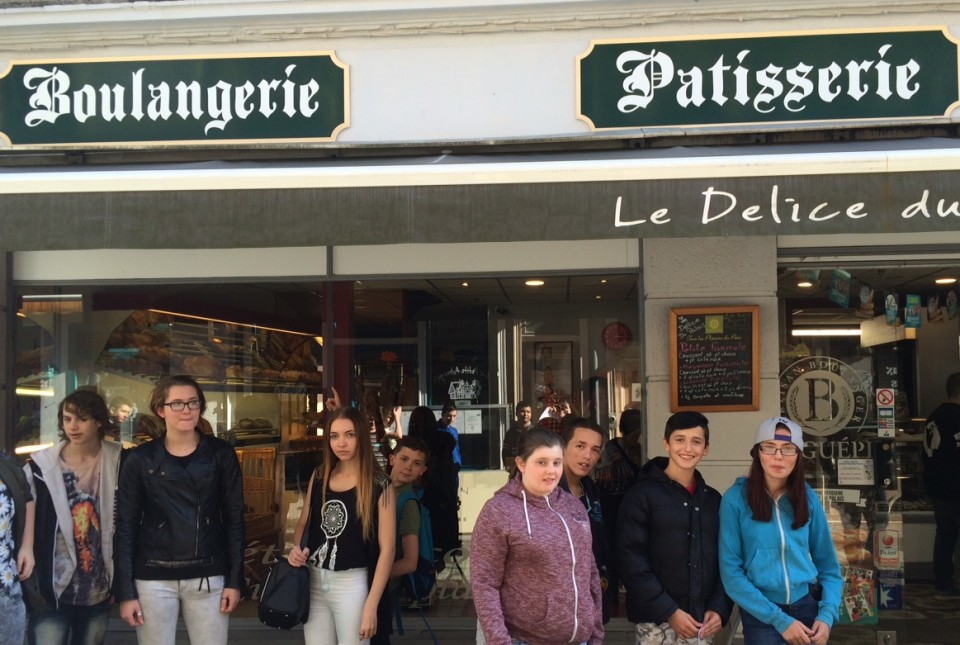 Y10 and Y11 Students in France