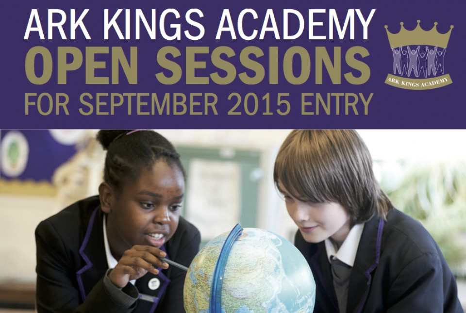 ARK Kings Academy September 2015 admissions