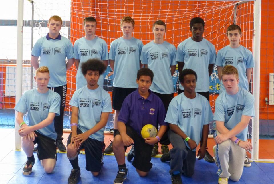 ARK Kings Academy student handball team at Birmingham School Games Summer Festival