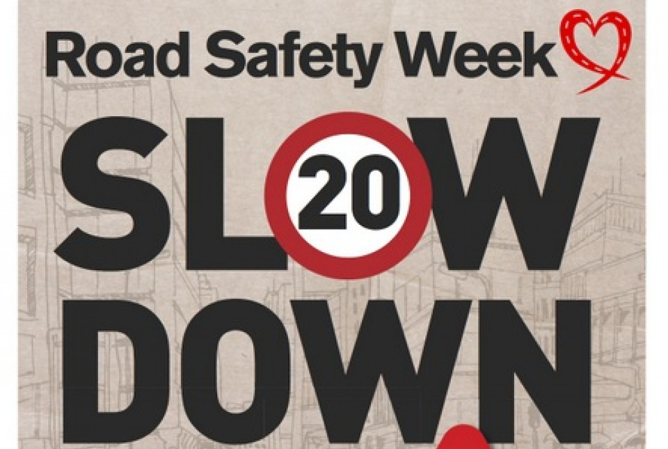 Road Safety Week 2014 poster