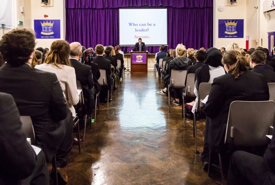 Student Leadership Hustings 2015