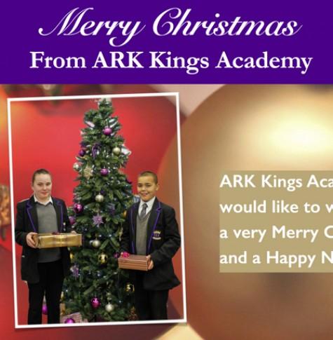 ARK Kings Academy Christmas greeting message